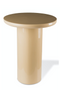 Beige Lacquered Side Table | Pols Potten Mob