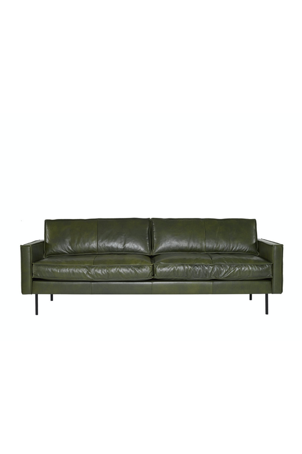 Green Leather Sofa | Pols Potten PPno.1 | DutchFurniture.com