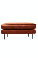 Cognac Leather Pouf | Pols Potten PPno.1 | Dutchfurniture.com