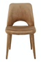 Beige Velvet Dining Chair | Pols Potten Holy | DutchFurniture.com