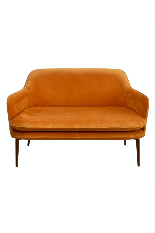 Orange Velvet Sofa | Pols Potten Charmy | DutchFurniture.com