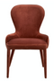 Pink Velvet Dining Chair | Pols Potten Aunty | DutchFurniture.com