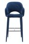 Blue Velvet Barstool | Pols Potten Cosy | DutchFurniture.com