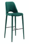 Green Velvet Barstool | Pols Potten Holy | DutchFurniture.com