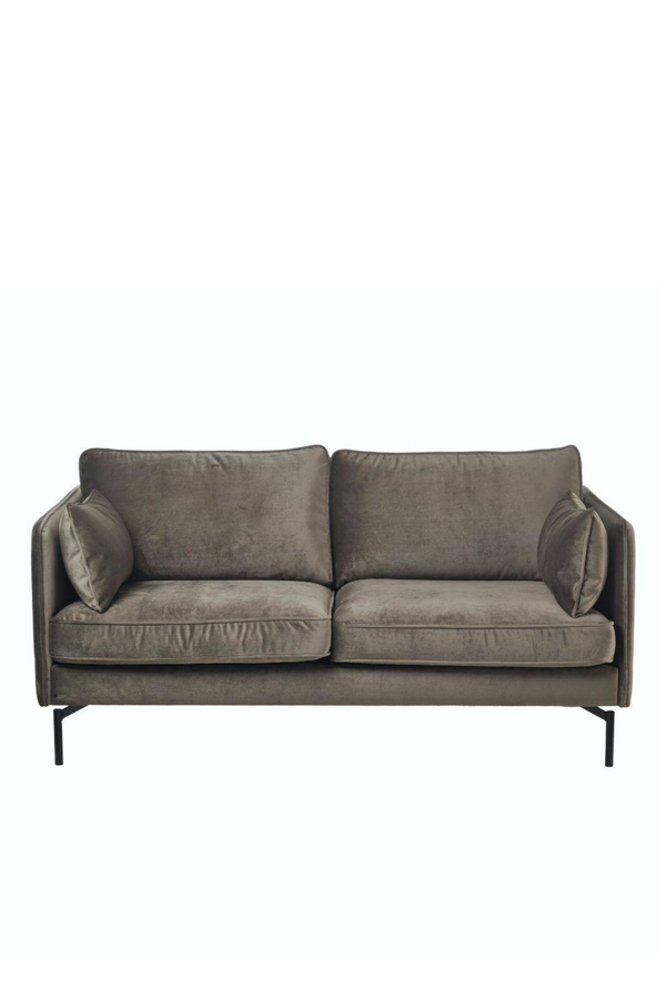Brown Velvet Sofa | Pols Potten PPno.2 | DutchFurniture.com