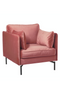 Pink Velvet Accent Chair | Pols Potten Fauteuil | DutchFurniture.com