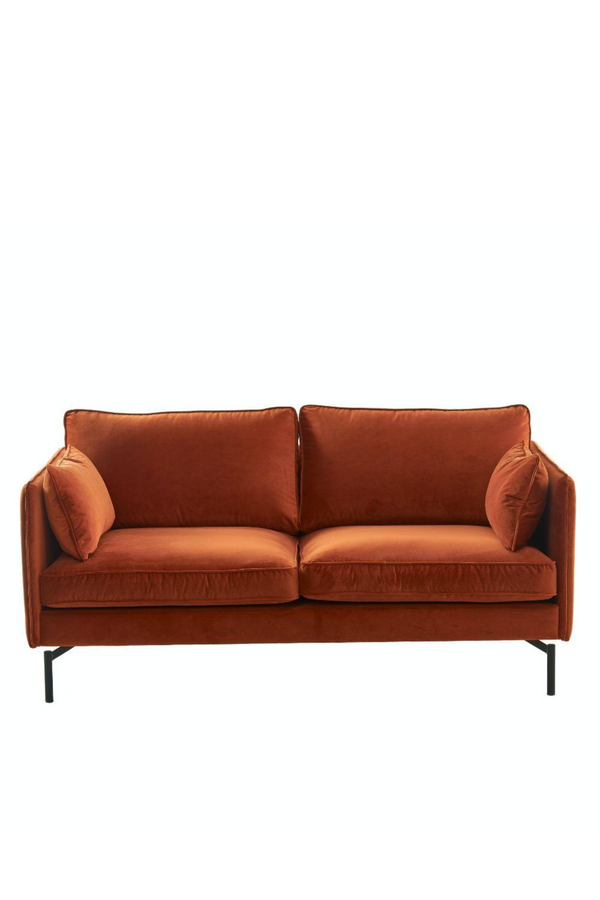 Burgundy Velvet Sofa | Pols Potten PPno.2| DutchFurniture.com