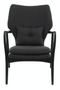Black Accent Chair | Pols Potten Peggy | DutchFurniture.com