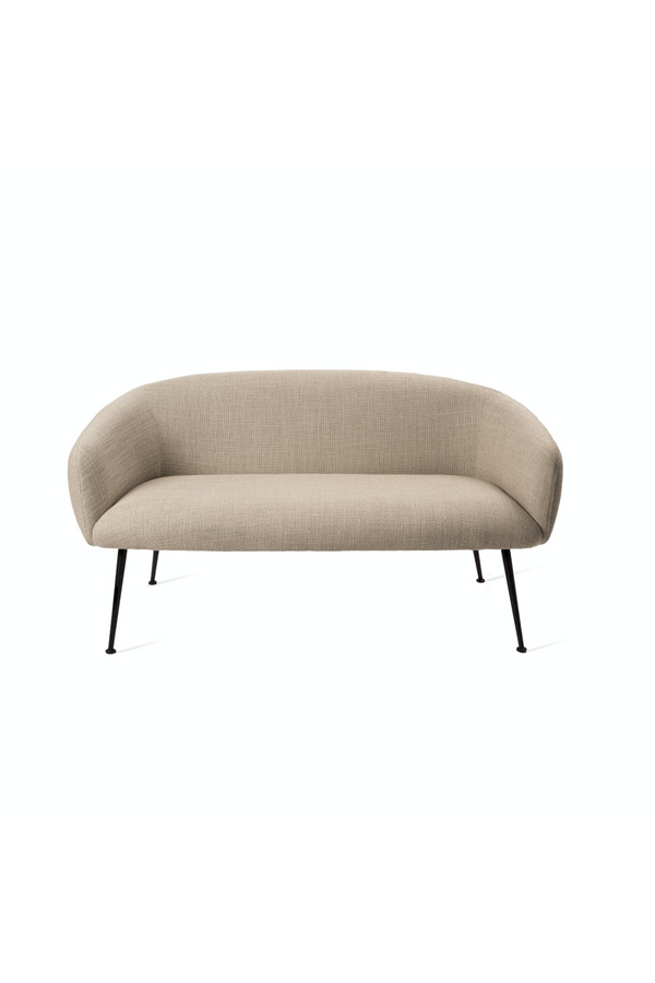 Beige Rounded Sofa | Pols Potten Buddy | Dutchfurniture.com
