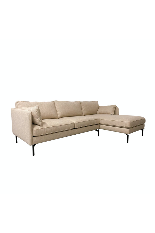 Beige Right Corner Sofa | Pols Potten PPno.2 | Dutchfurniture.com
