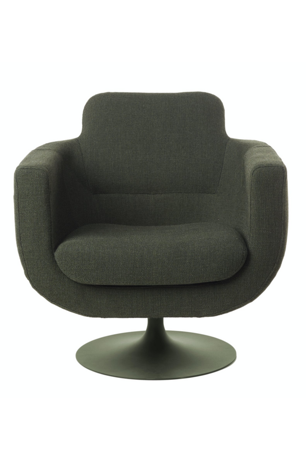 Green Upholstered Swivel Chair | Pols Potten Kirk | DutchFurniture.com