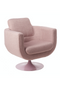 Pink Upholstered Swivel Chair | Pols Potten Kirk | DutchFurniture.com