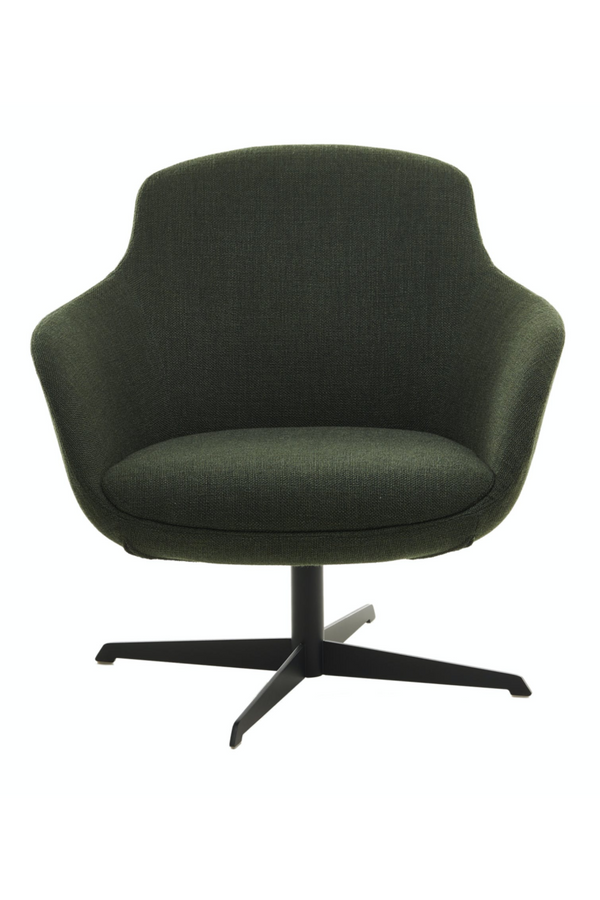 Green Swivel Base Accent Chair | Pols Potten Spock | DutchFurniture.com