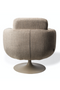 Beige Upholstered Swivel Chair | Pols Potten Kirk | DutchFurniture.com