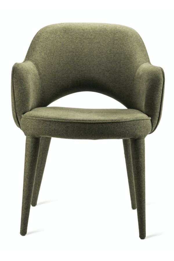 Green Dining Armchair | Pols Potten Cosy | DutchFurniture.com