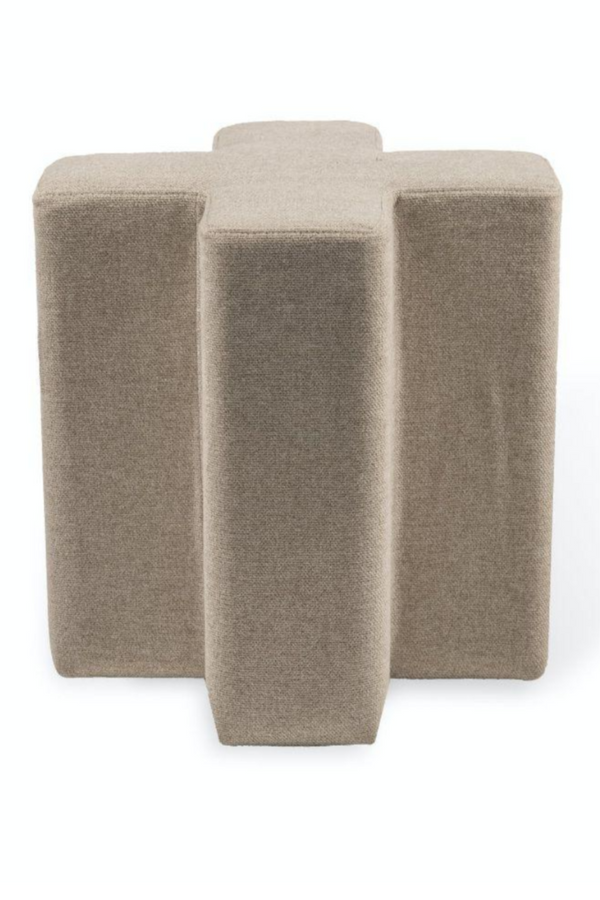 Beige Cross Stool | Pols Potten | DutchFurniture.com