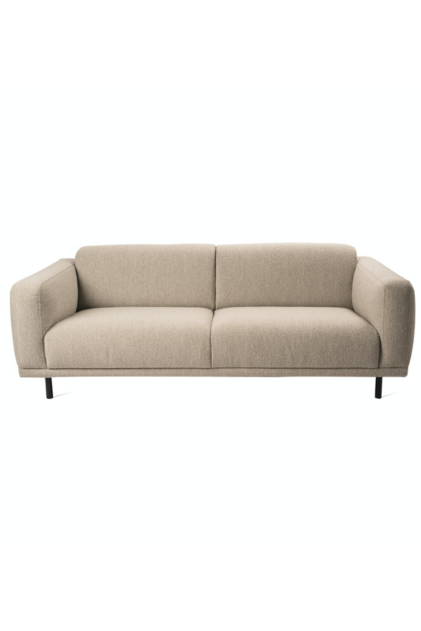 Beige Cushioned Sofa | Pols Potten Teddy | Dutchfurniture.com