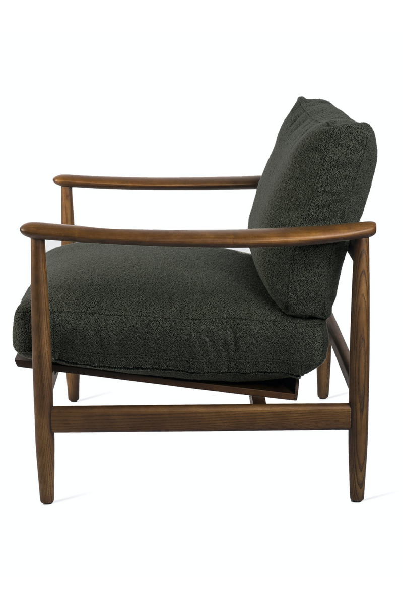 Green Soft Cushioned Arm Chair | Pols Potten Todd | Dutchfurniture.com