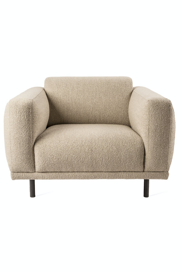 Beige Accent Chair | Pols Potten Teddy | Dutchfurniture.com