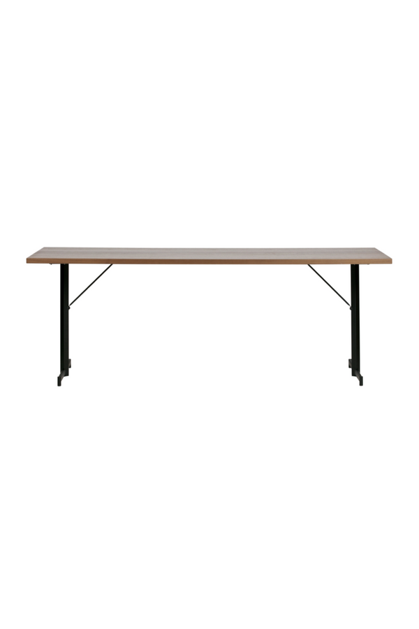 Brown Walnut Dining Table M | vtwonen Panel | DutchFurniture.com