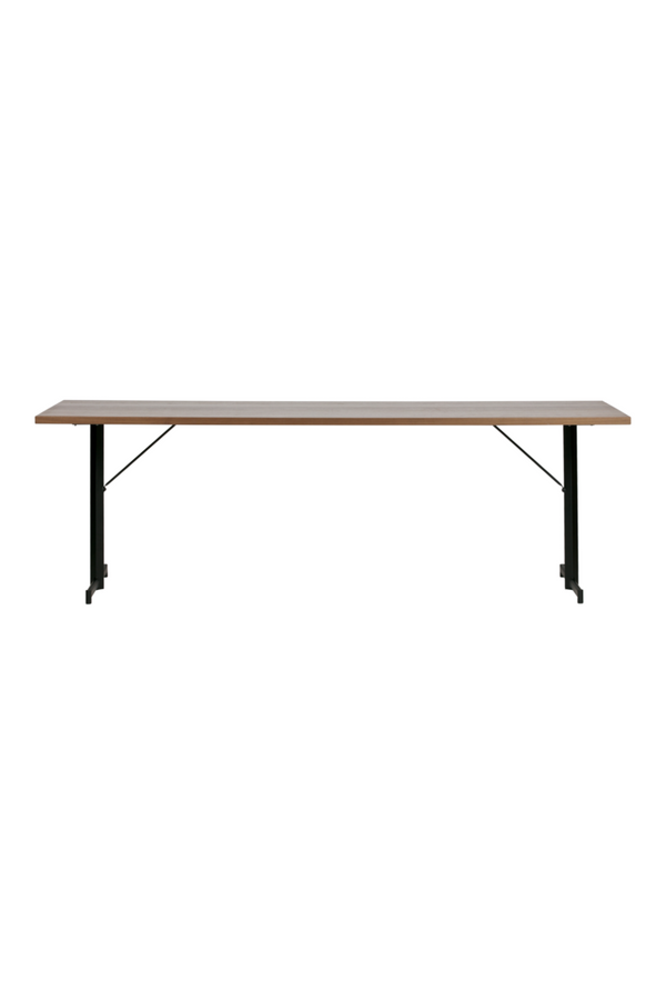 Brown Walnut Dining Table L | vtwonen Panel | DutchFurniture.com