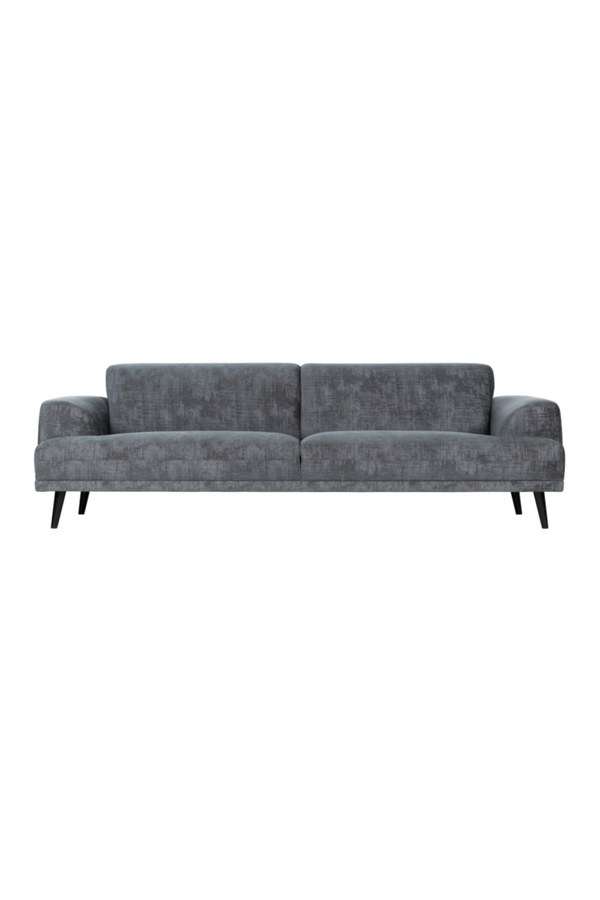 Champagne Velvet 3-Seater Sofa | vtwonen Brush | DutchFurniture.com