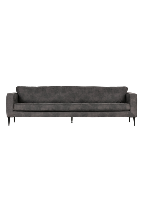 Dark Gray 3-Seater Sofa | vtwonen Crew | DutchFurniture.com