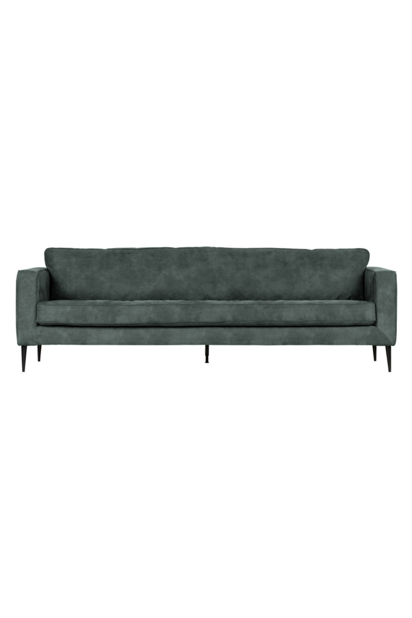 Blue 3-Seater Upholstered Sofa | vtwonen Crew | DutchFurniture.com
