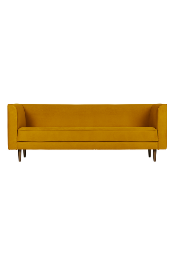 Amber Velvet 3-Seater Sofa | vtwonen Studio | DutchFurniture.com
