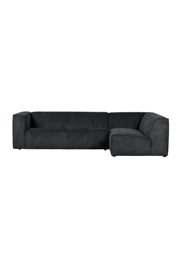Dark Gray Right Corner Sofa | vtwonen Lazy | DutchFurniture.com
