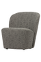 Gray Rounded Armchair | Vtwonen Lofty | DutchFurniture.com