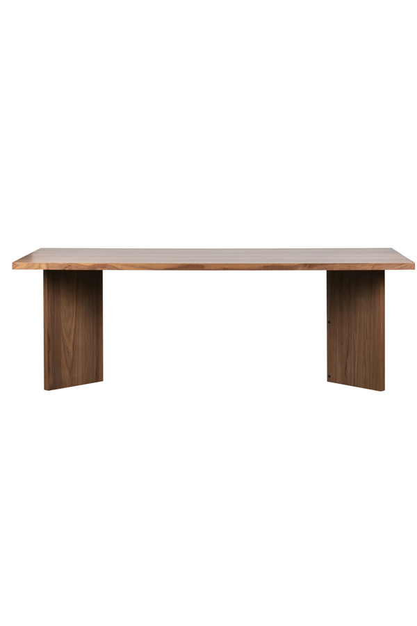 Brown Rectangular Dining Table | Vtwonen Angle | DutchFurniture.com