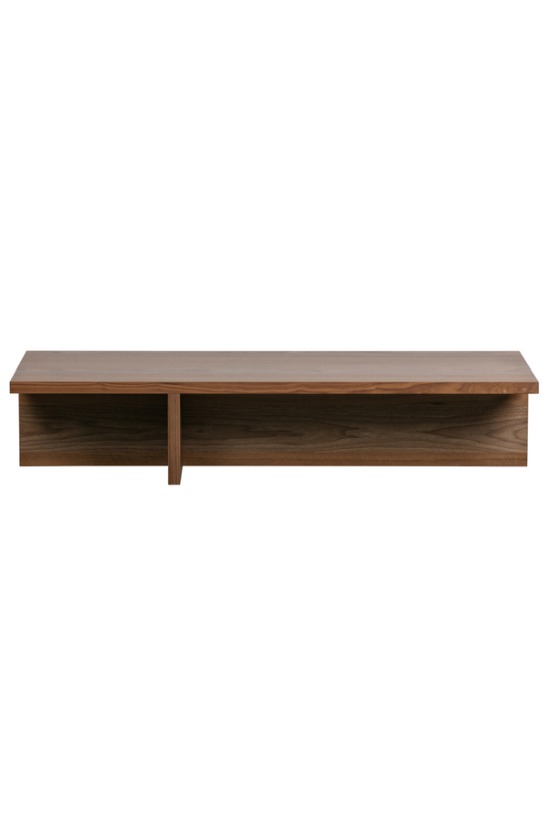 Brown Veneer Coffee Table | Vtwonen Angle | DutchFurniture.com