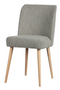 Gray Bouclé Dining Chairs (2) | vtwonen Force | DutchFurniture.com