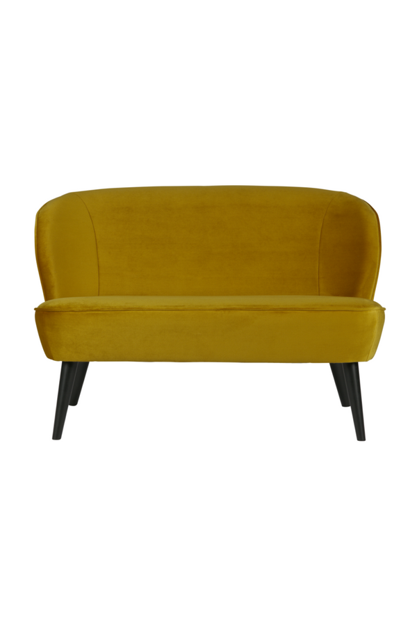 Amber Velvet Upholstered Sofa | Woood Sara | Dutchfurniture.com