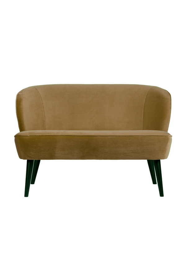 Army Velvet Upholstered Sofa | Woood Sara | DutchFurniture.com