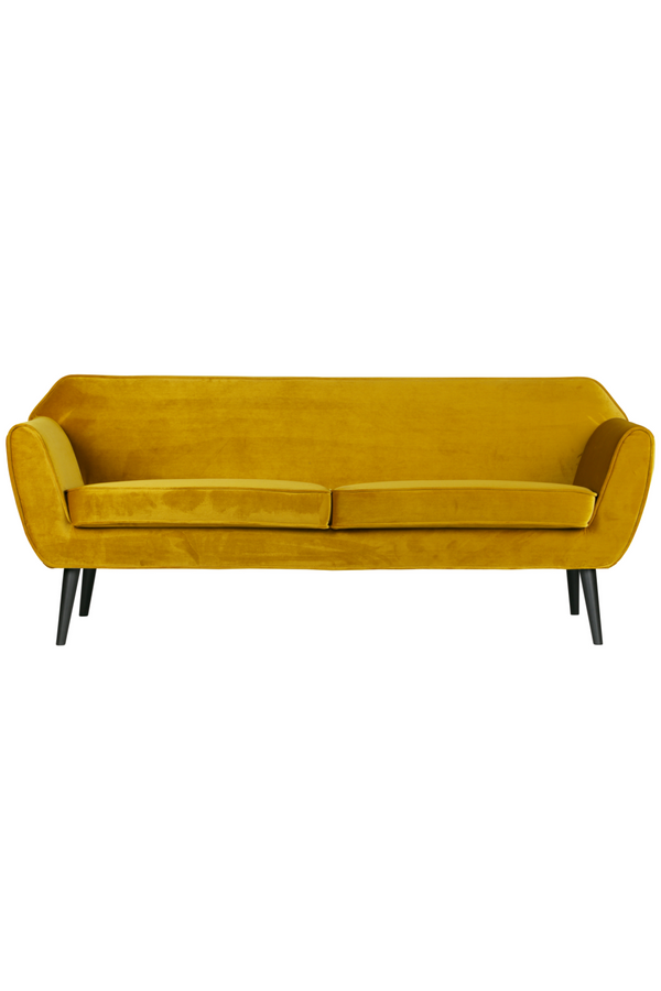 Amber Velvet 2-Seater Sofa | Woood Rocco | Dutchfurniture.com