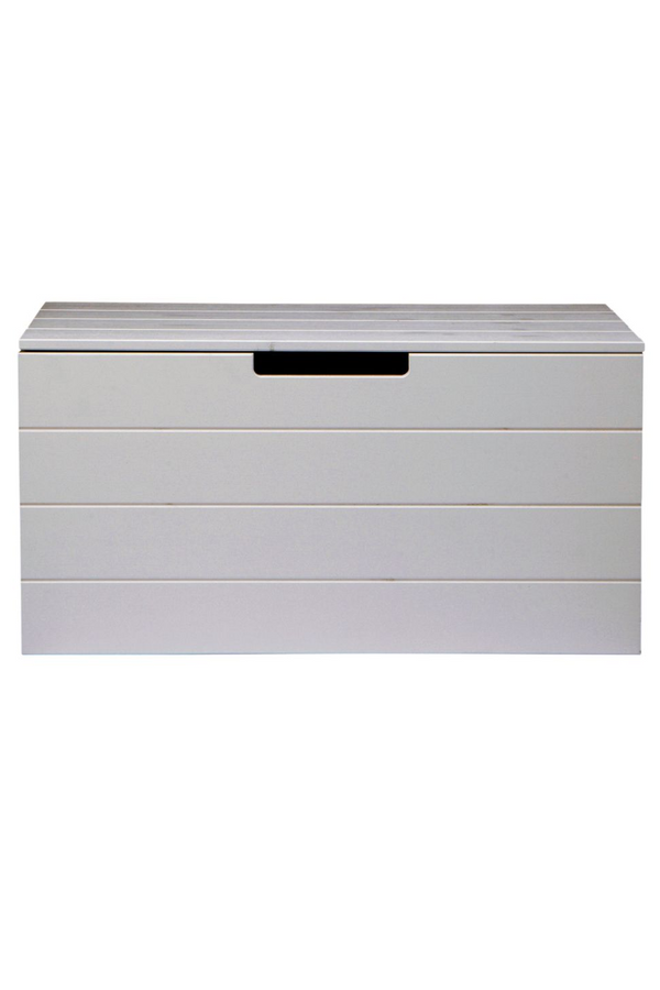 Rectangular Gray Storage Box | Woood Keet | DutchFurniture.com