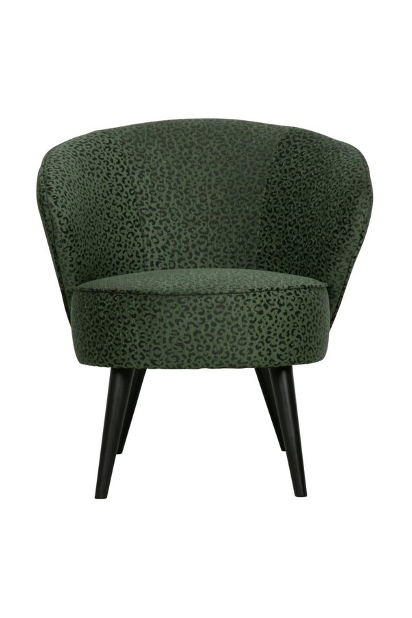 Green Panther Print Accent Chair (Limited Edition) | WOOOD | Dutch Furniture
