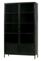 Black Metal Cabinet XL | Woood Ronja | Dutchfurniture.com