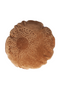 Round Camel Velvet Throw Pillows (2) | WOOOD Babs | DutchFurniture.com