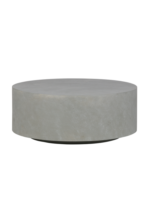 Gray Round Coffee Table Large | WOOOD Dean | Dutchfurniture.com