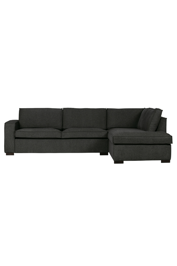 Dark Gray Mix Right Corner Sofa | WOOOD Thomas | DutchFurniture.com