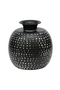 Black Metal Vase Set (2) L | WOOOD Emori | DutchFurniture.com