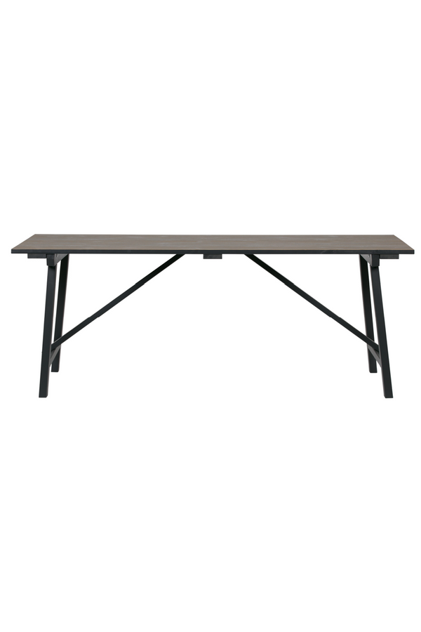 Brown Rectangular Dining Table M | Woood Derby | Dutchfurniture.com