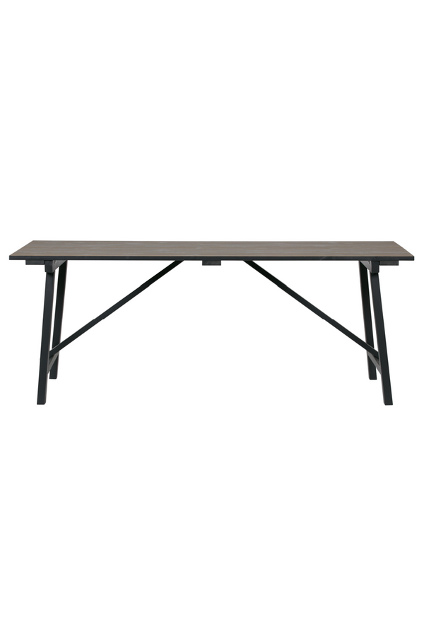 Brown Rectangular Dining Table L | Woood Derby | Dutchfurniture.com
