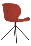 Orange Upholstered Dining Chairs (2) | Zuiver OMG | DutchFurniture.com