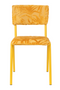 Yellow Leaf Dining Chairs (2) | Zuiver Back To Miami | DutchFurniture.com