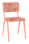 Pink Leaf Dining Chairs (2) | Zuiver Back To Miami | DutchFurniture.com