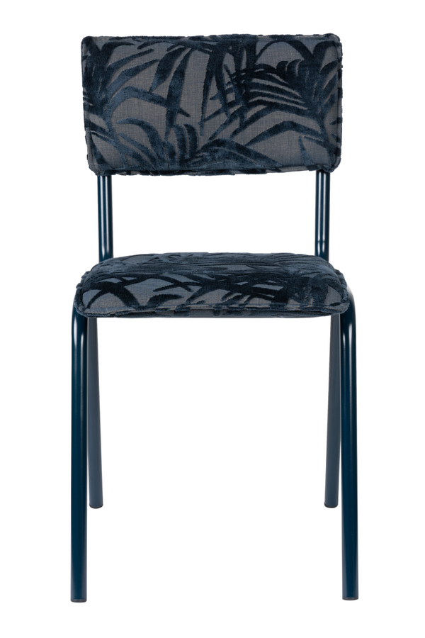 Blue Leaf Dining Chairs (2) | Zuiver Back To Miami | DutchFurniture.com